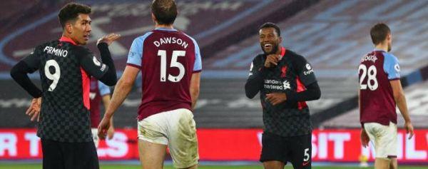 Liverpool derrota como vistante a West Ham y sube al tercer lugar de la Premier League
