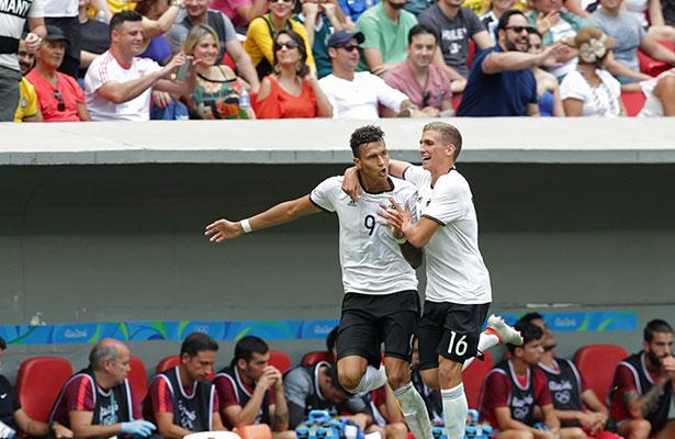 Portugal fue apenas una sombra del equipo victorioso que entusiasmó en la  fase de grupos del torneo olímpico y Alemania d52cfd0c9d983
