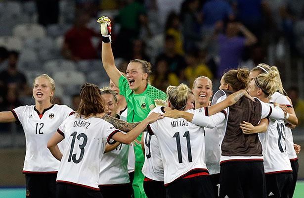 La Selección de Alemania buscará la medalla de oro en el Torneo de Futbol  Femenil de los Juegos Olímpicos Río 2016 535f249c62172