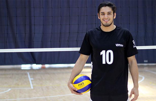 Pedro Rangel (volleyball) Pedro Rangel con ganas de hacer historia