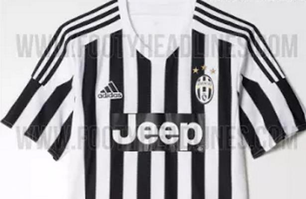 La página footyheadlines.com ha filtrado los tres uniformes que utilizará  la Juventus para la temporada 2015-2016. 32b4536247455
