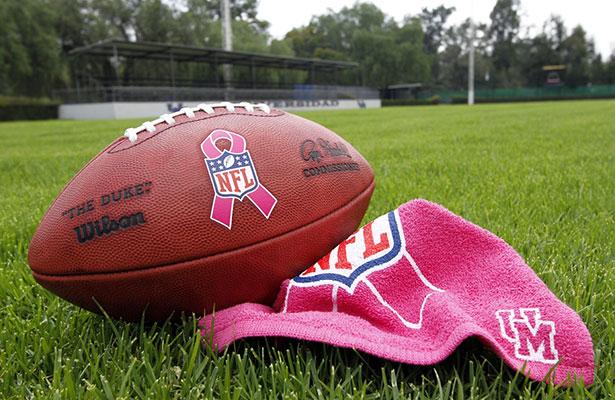 NFL México se alió a una empresa de productos de belleza para una campaña  en la lucha contra el cáncer de mama d8882c19434