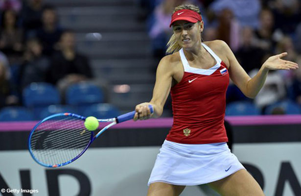 Sharapova eliminada del Torneo de Moscú