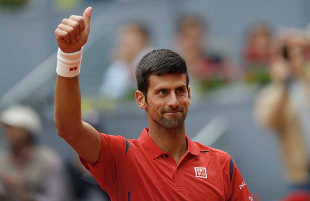 Djokovic avanza a la final de Roma