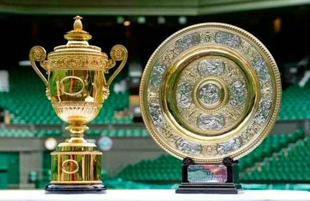 Resultado de imagen de wimbledon trofeos