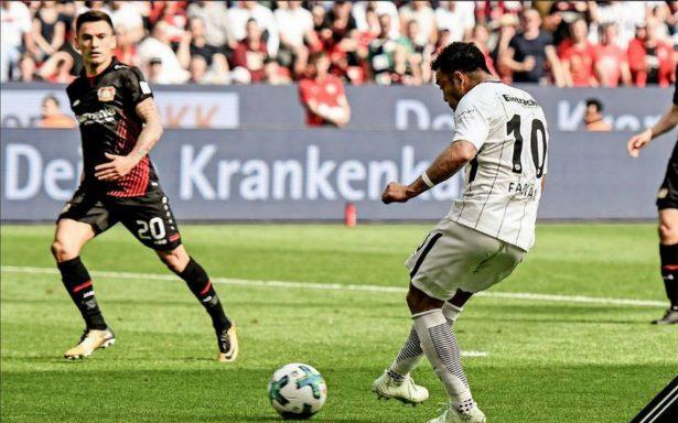 Video: Marco Fabián anota gol con el Eintracht Frankfurt