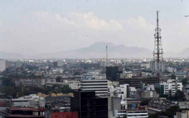 Valle de México con mala calidad del aire por ozono