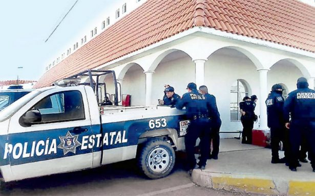 Agentes policíacos se manifiestan en Chihuahua