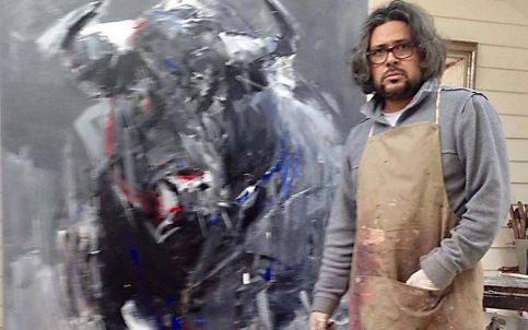 Diego Ramos, uno de los mejores pintores taurinos visita México