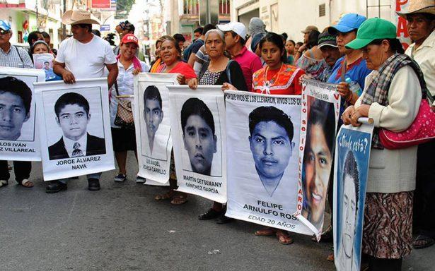 Tribunal desecha 43 recursos contra Comisión de la Verdad del caso Iguala