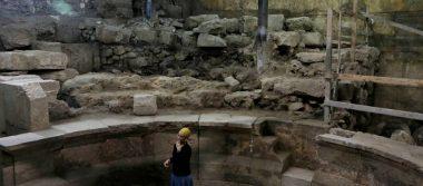 Descubren teatro romano perdido debajo del Muro de los Lamentos