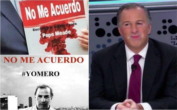 """""""No me acuerdo""""; Meade olvida el título de su libro y los memes se lo comen"""