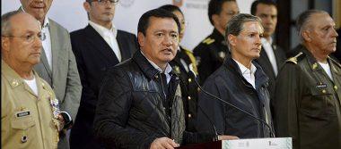 Osorio Chong encabeza reunión de seguridad junto a Alfredo Del Mazo en el Edomex