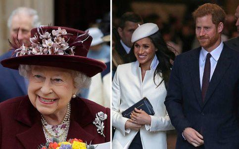 Reina Isabel hace oficial su consentimiento al matrimonio del príncipe Harry y Meghan Markle