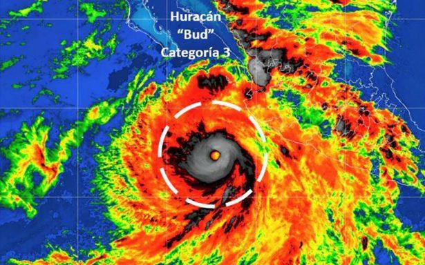 Bud podría convertirse en huracán categoría 4: Conagua