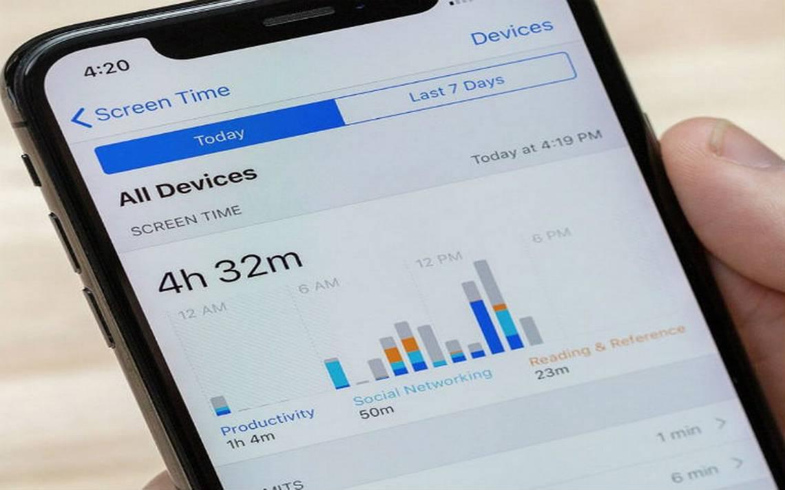 iPhone se convierte en tu mamá virtual y controla el tiempo que usas tu celular
