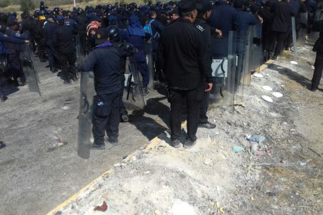 Desalojan Congreso local por amenazade toma de habitantes de Chenalhó