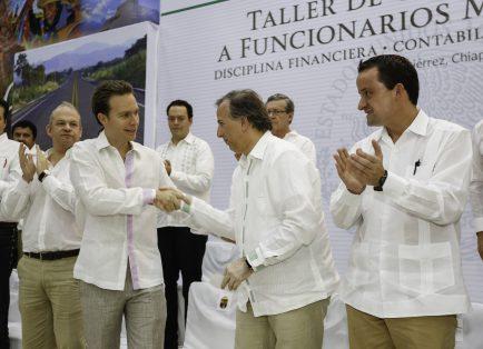 En Chiapas, Banobras ha destinado mil 554 mdp para infraestructura educativa, vial y urbana