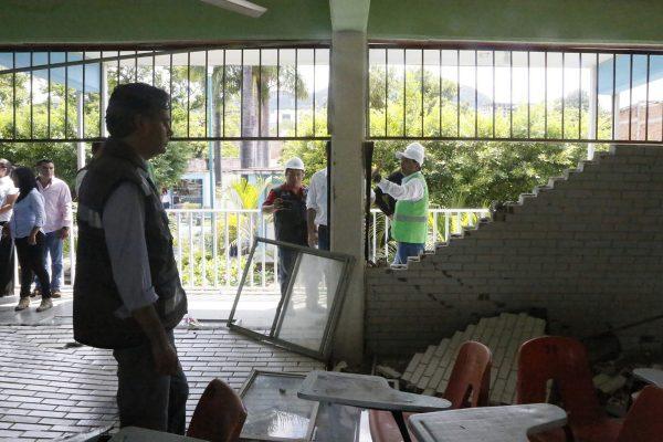 Generó terremoto daños por 2 mil mdp