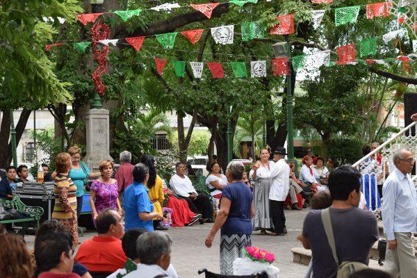 De fiesta Parque de la Marimba