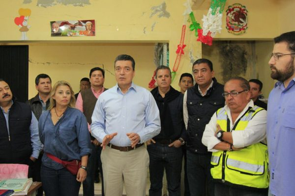 Recorre Rutilio juzgados einmuebles de San Cristóbal