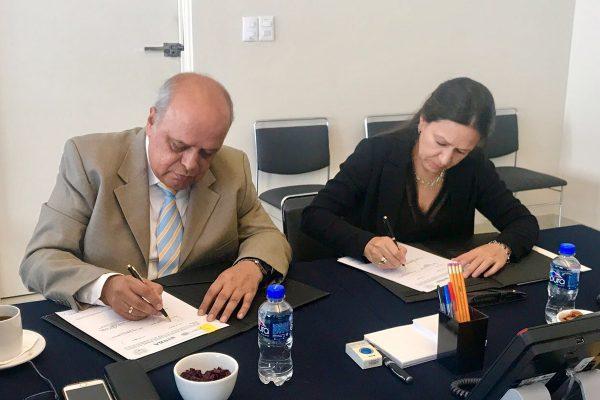 Suscribe Unach e INBA acuerdo de colaboración