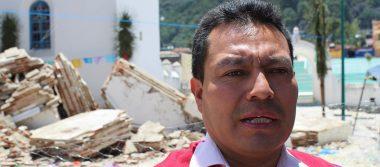 Urge reconstruir templo