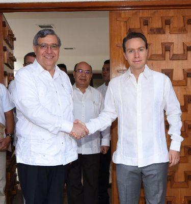 Chiapas y Guatemala construyen un futuro común: Velasco