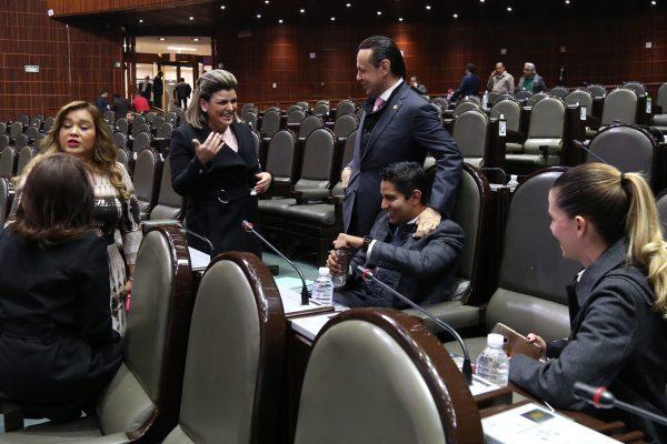 Por cuarta vez me honro en formar parte de la Comisión Permanente: Emilio Salazar