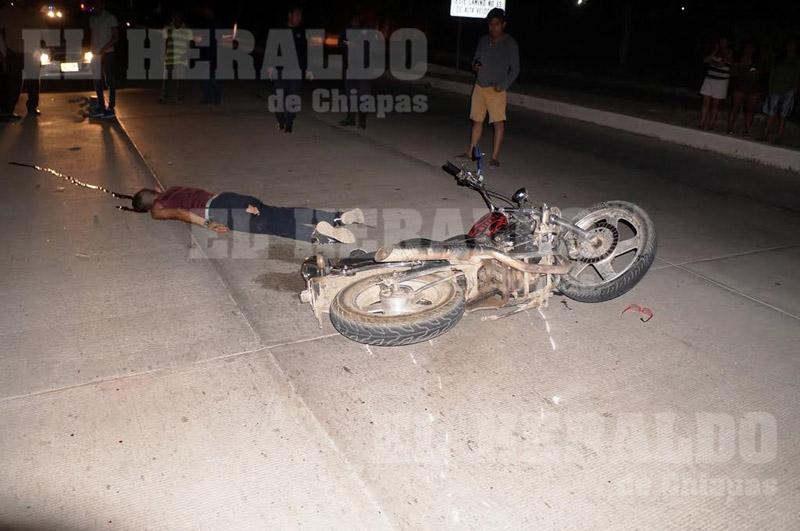 Accidente de tránsito deja un lesionado de gravedad