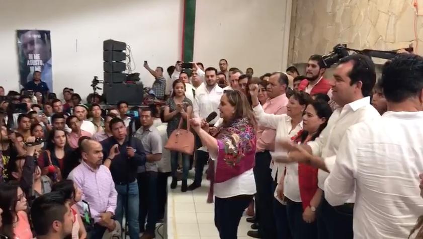 Pronunciamiento de la Secretaria General del PRI, Claudia Ruiz Massieu [VIDEO]