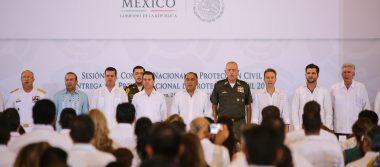 Chiapas participa en Sesión delConsejo Nacional de Protección Civil