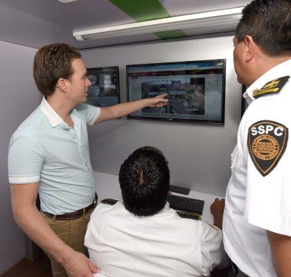 Seguridad en Chiapas sefortalece con tecnología