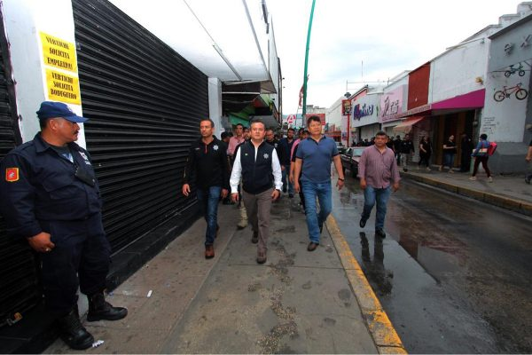 Juntos ponemos orden en el Centro de Tuxtla: Carlos Molano