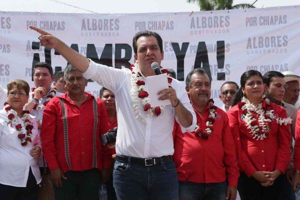 """En mi gobierno los bandidos seirán directo a """"El Amate"""": Albores"""