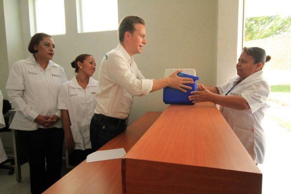 En Chiapas, cuidamos la salud de la niñez y la juventud: MVC