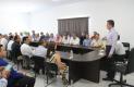 Se reúne Rutilio con integrantes de la estructura política