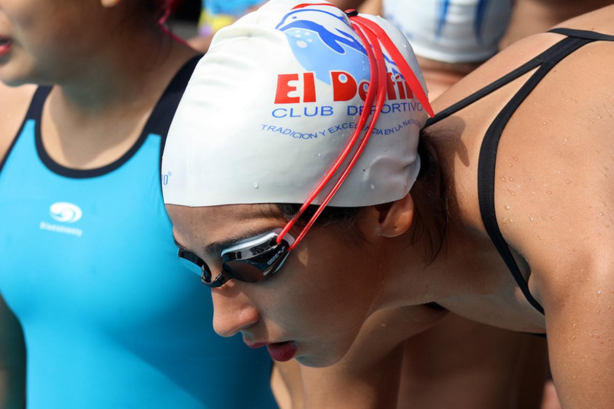 Los atletas del Delfín demostraron sus cualidades en esta competencia. /Cortesía