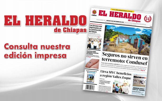 Edición impresa martes 18 de septiembre de 2018