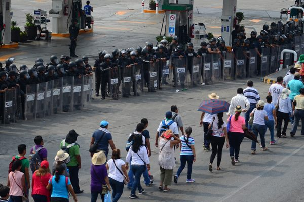 Gasolineros reportan pérdidasmillonarias por manifestaciones