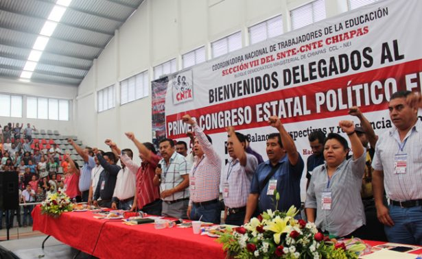 La CNTE reforzará su lucha; convocan a congreso nacional