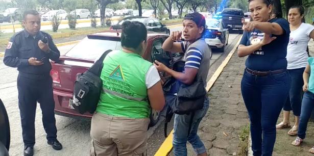 [VIDEO] Un lesionado en accidente de tránsito en el bulevar Andrés Serra Rojas