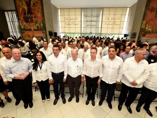 Escandón Cadenas consolidó el Poder Judicial en Chiapas: Velasco
