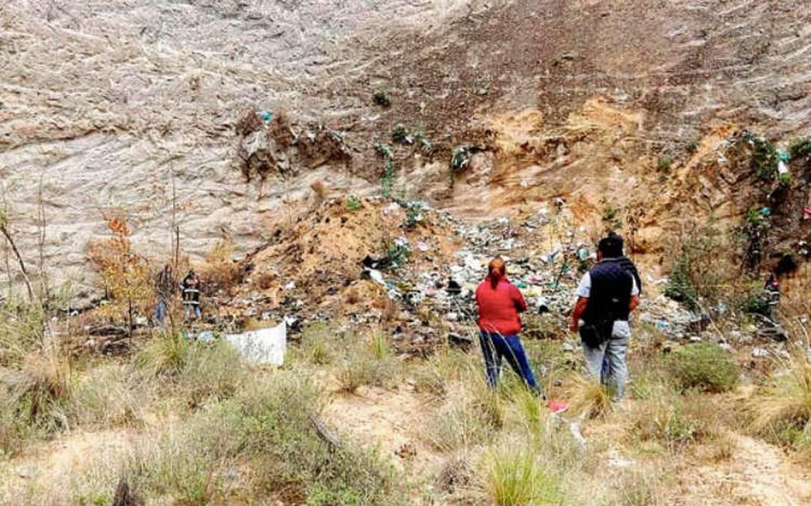 Genera temor hallazgo de osamenta en Tulancingo, Hidalgo