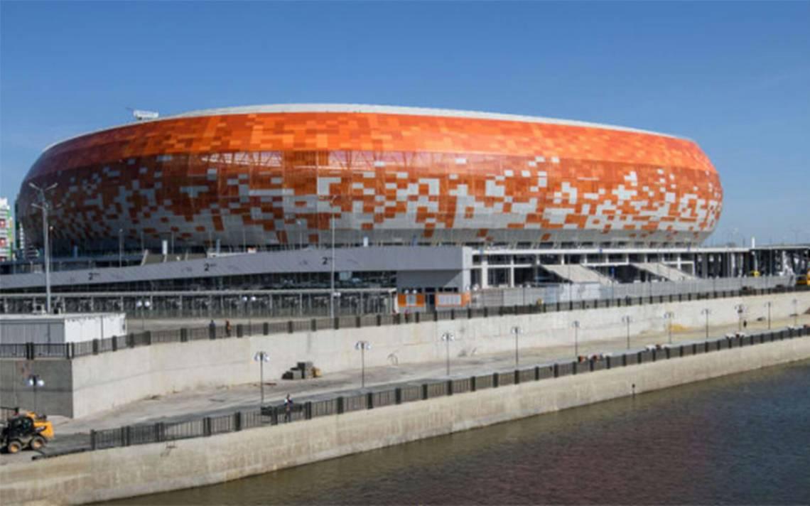 Templos del futbol: Así luce el colorido estadio Mordovia Arena