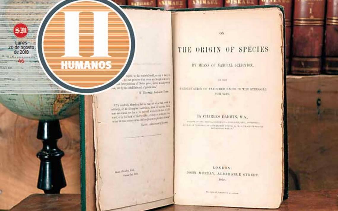Ponen a subasta obra maestra de Charles Darwin