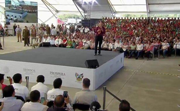 En el combate a la pobreza el Gobierno se mantiene firme: Peña Nieto