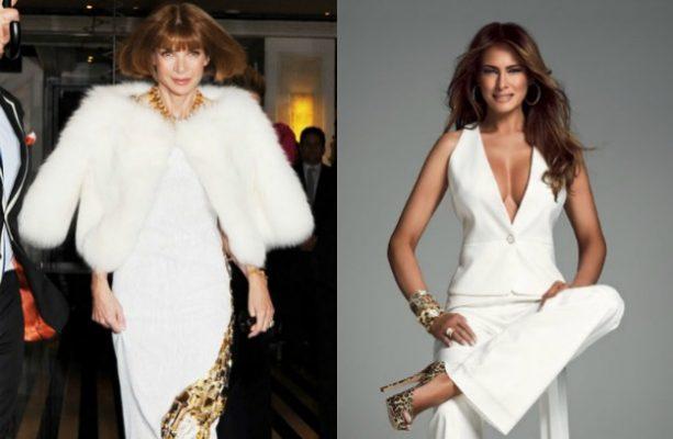 Anna Wintour quiere a Melania Trump en la portada de Vogue