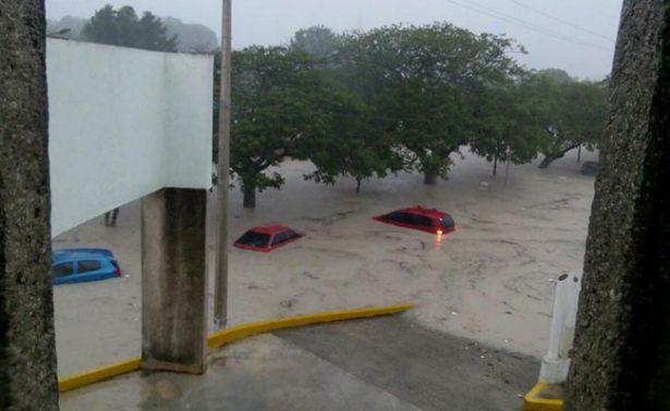Paso de Franklin deja severas inundaciones en la ciudad de Campeche