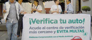 A la baja, la verificación  vehicular en Guanajuato